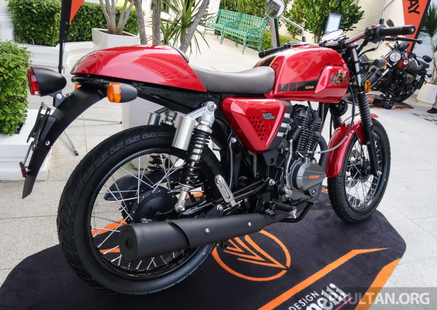 2018 Keeway K-Light 202 retro, Cafe Racer 152 and Patagonian Eagle 250 in Malaysia – from RM6,521 Image #725092