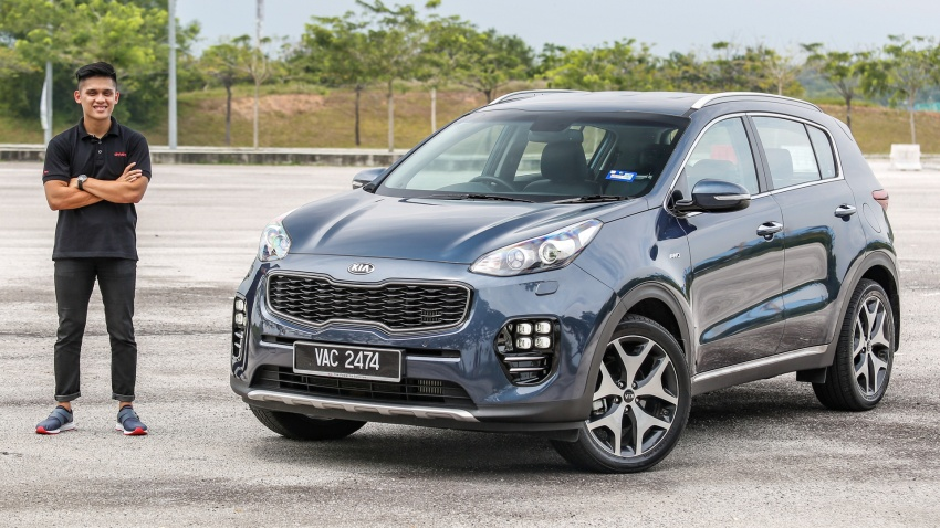 FIRST DRIVE: Kia Sportage 2.0L GT CRDi video review Image #722686