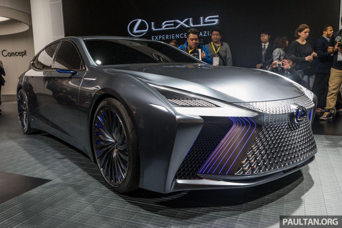 Lexus Ls Best Luxury Cars: Tokyo 2017: Lexus LS+ Concept