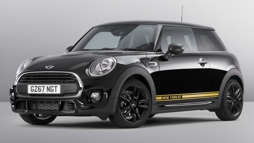 MINI 1499 GT – special edition One unveiled for the UK Image #723419