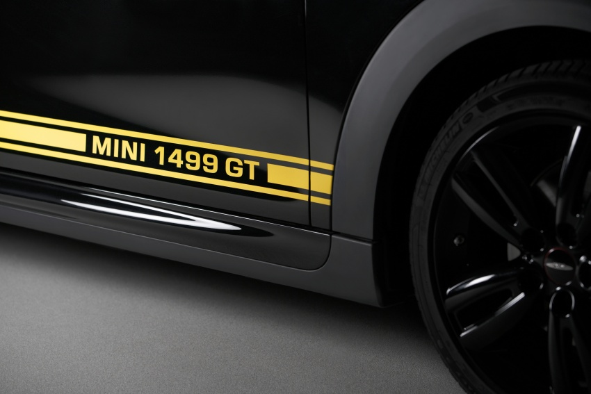 MINI 1499 GT – special edition One unveiled for the UK Image #723430