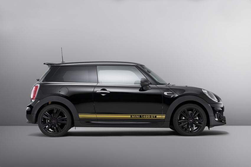 MINI 1499 GT – special edition One unveiled for the UK Image #723425