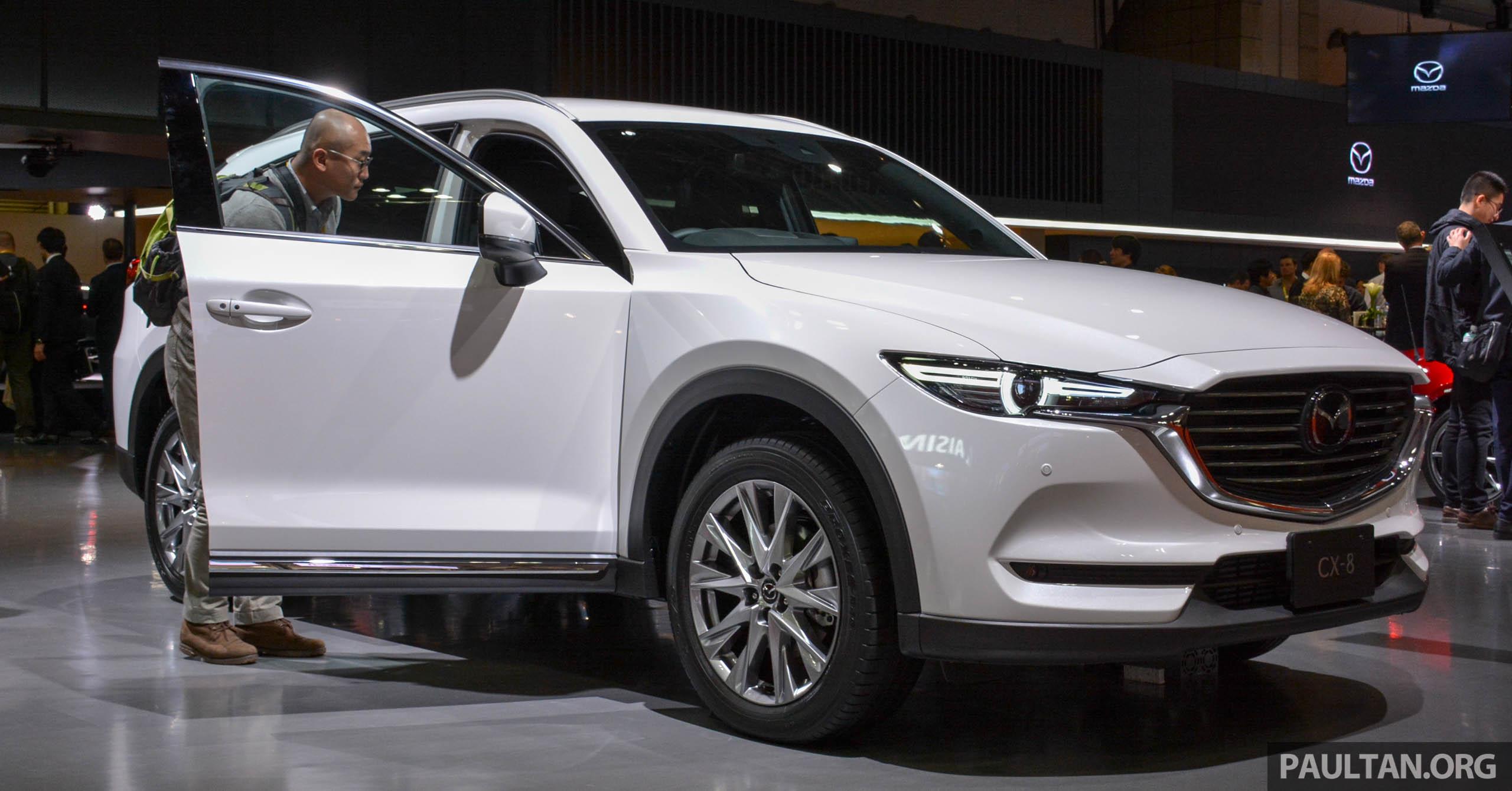 8 Seat Suv >> Tokyo 2017: Mazda CX-8 – three-row SUV displayed Paul Tan - Image 728680