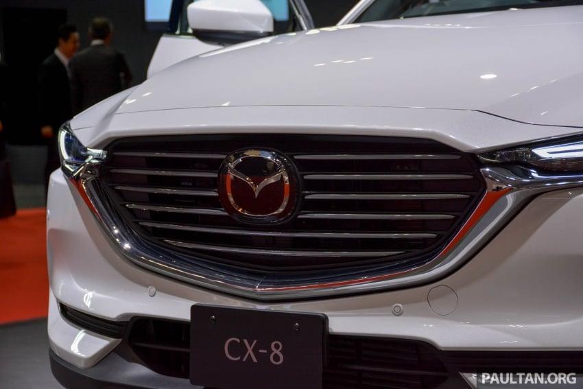 Tokyo 2017: Mazda CX-8 – three-row SUV displayed Image #728682