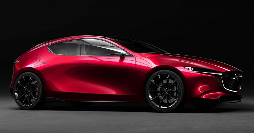 Tokyo 2017: Mazda Kai Concept – Mazda 3 berikutnya? Image #727888