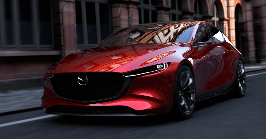 Tokyo 2017: Mazda Kai Concept – Mazda 3 berikutnya? Image #727908