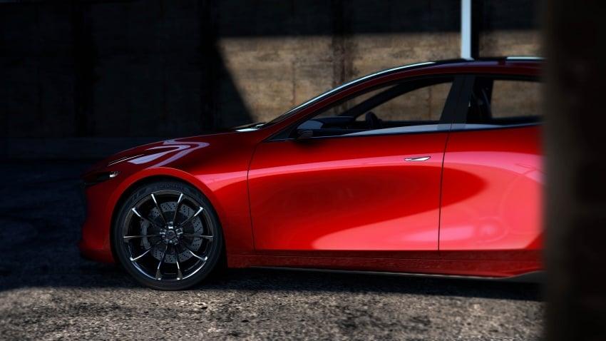 Tokyo 2017: Mazda Kai Concept – SkyActiv-Vehicle Architecture, SkyActiv-X engine; next-gen Mazda 3? Image #727544