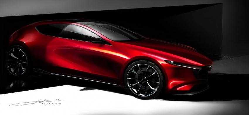 Tokyo 2017: Mazda Kai Concept – SkyActiv-Vehicle Architecture, SkyActiv-X engine; next-gen Mazda 3? Image #727549