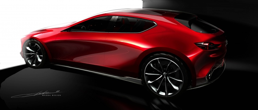 Tokyo 2017: Mazda Kai Concept – SkyActiv-Vehicle Architecture, SkyActiv-X engine; next-gen Mazda 3? Image #727550