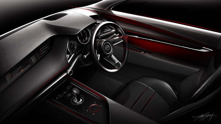 Tokyo 2017: Mazda Kai Concept – SkyActiv-Vehicle Architecture, SkyActiv-X engine; next-gen Mazda 3? Image #727552