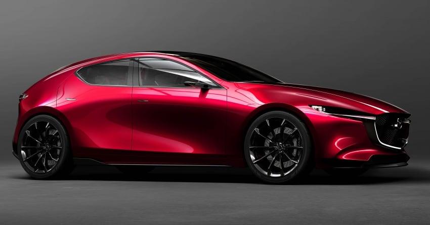 Tokyo 2017: Mazda Kai Concept – SkyActiv-Vehicle Architecture, SkyActiv-X engine; next-gen Mazda 3? Image #727535