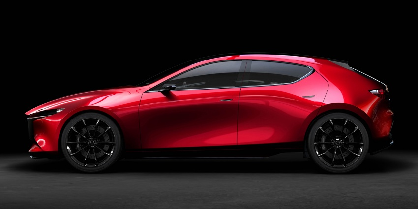 Tokyo 2017: Mazda Kai Concept – SkyActiv-Vehicle Architecture, SkyActiv-X engine; next-gen Mazda 3? Image #727538