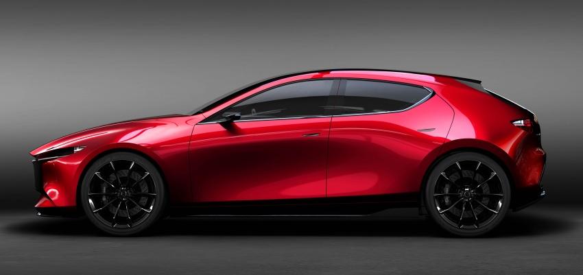 Tokyo 2017: Mazda Kai Concept – SkyActiv-Vehicle Architecture, SkyActiv-X engine; next-gen Mazda 3? Image #727539