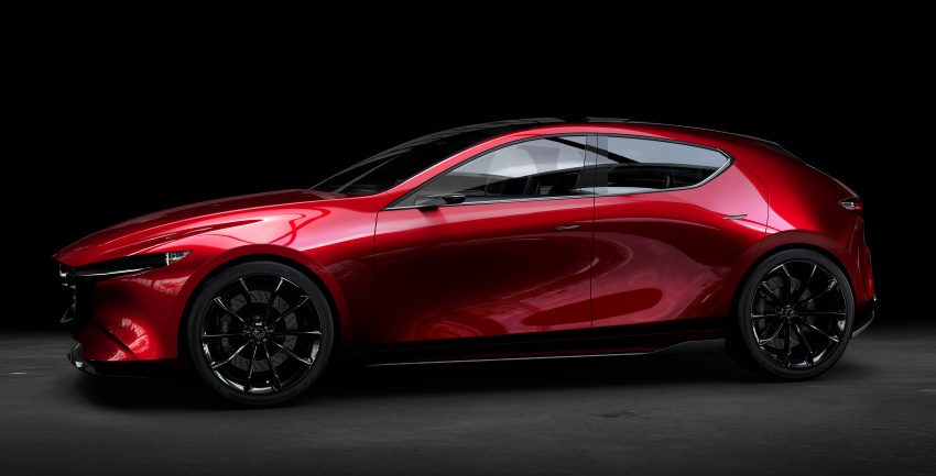 Tokyo 2017: Mazda Kai Concept – SkyActiv-Vehicle Architecture, SkyActiv-X engine; next-gen Mazda 3? Image #727540