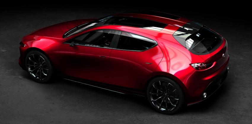 Tokyo 2017: Mazda Kai Concept – SkyActiv-Vehicle Architecture, SkyActiv-X engine; next-gen Mazda 3? Image #727541