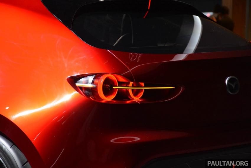 Tokyo 2017: Mazda Kai Concept – SkyActiv-Vehicle Architecture, SkyActiv-X engine; next-gen Mazda 3? Image #728289