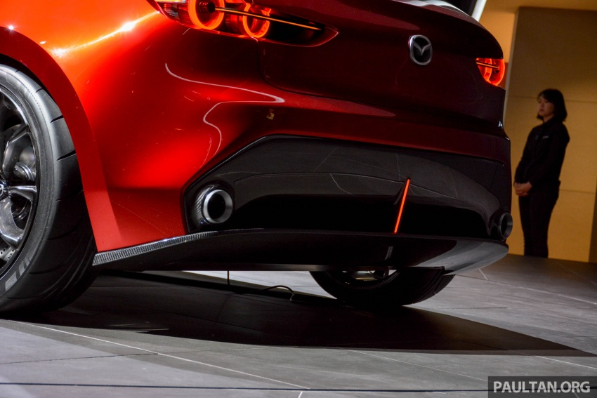 Tokyo 2017: Mazda Kai Concept – SkyActiv-Vehicle Architecture, SkyActiv-X engine; next-gen Mazda 3? Image #728291