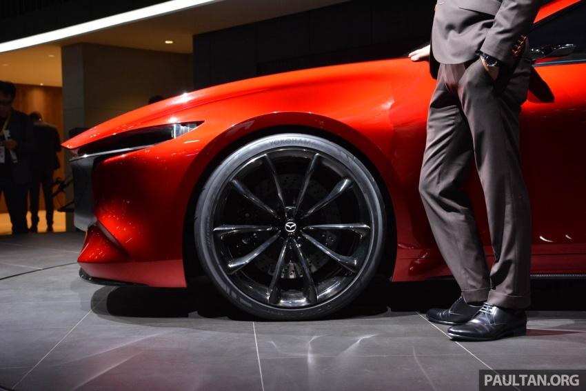Tokyo 2017: Mazda Kai Concept – SkyActiv-Vehicle Architecture, SkyActiv-X engine; next-gen Mazda 3? Image #728292