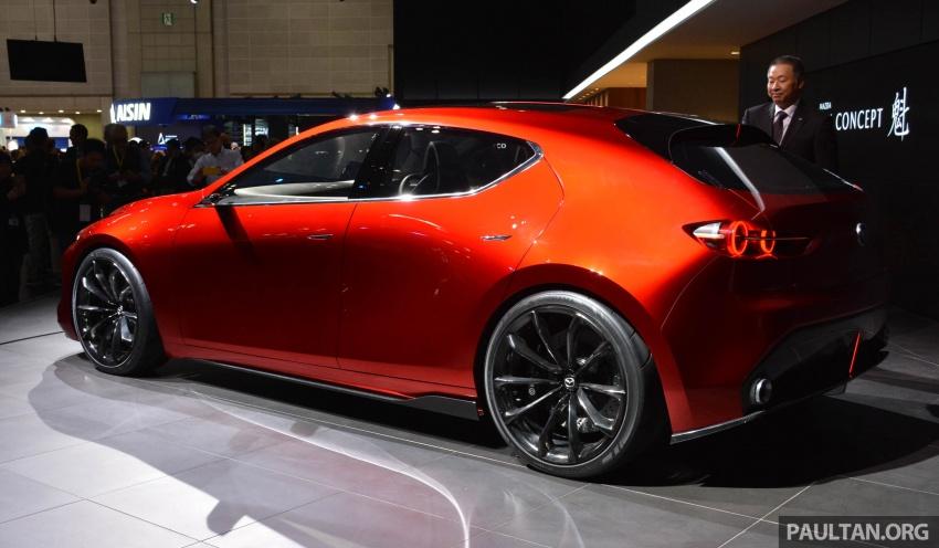 Tokyo 2017: Mazda Kai Concept – SkyActiv-Vehicle Architecture, SkyActiv-X engine; next-gen Mazda 3? Image #728281