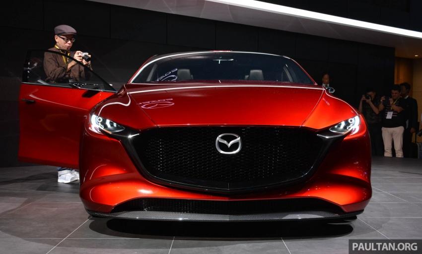 Tokyo 2017: Mazda Kai Concept – SkyActiv-Vehicle Architecture, SkyActiv-X engine; next-gen Mazda 3? Image #728283
