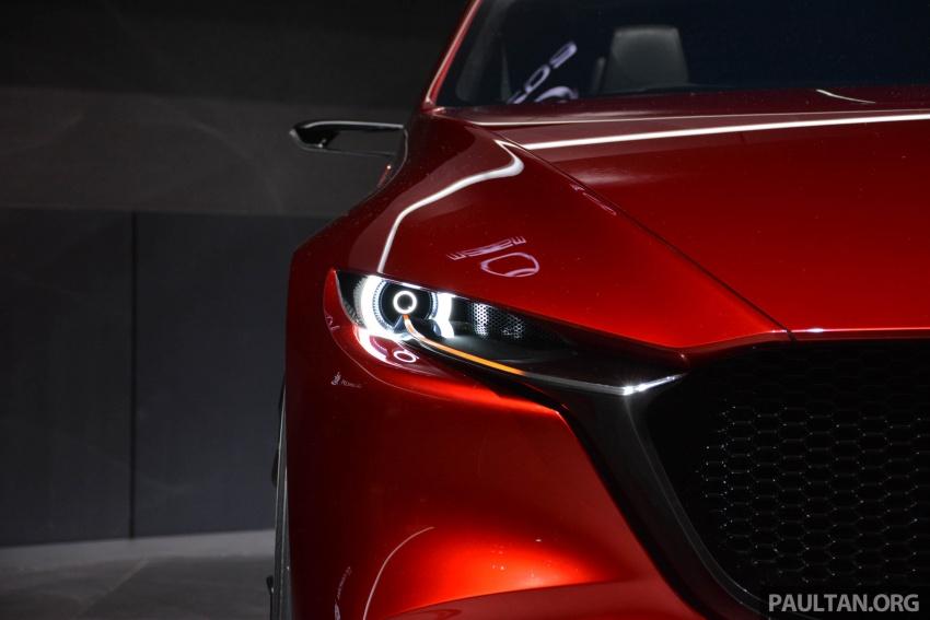 Tokyo 2017: Mazda Kai Concept – SkyActiv-Vehicle Architecture, SkyActiv-X engine; next-gen Mazda 3? Image #728285
