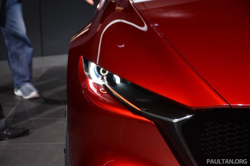 Tokyo 2017: Mazda Kai Concept – SkyActiv-Vehicle Architecture, SkyActiv-X engine; next-gen Mazda 3? Image #728286