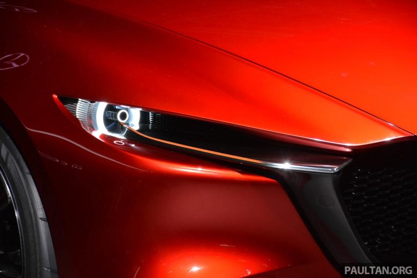 Tokyo 2017: Mazda Kai Concept – SkyActiv-Vehicle Architecture, SkyActiv-X engine; next-gen Mazda 3? Image #728287