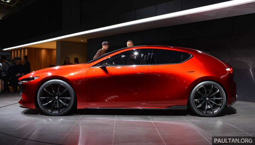 Tokyo 2017: Mazda Kai Concept – SkyActiv-Vehicle Architecture, SkyActiv-X engine; next-gen Mazda 3? Image #728288