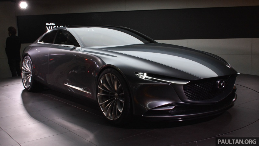 Tokyo 2017: Mazda Vision Coupe – the future of Kodo Image #728310