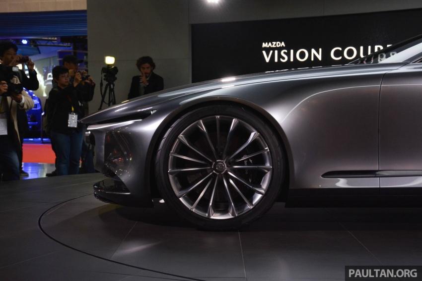 Tokyo 2017: Mazda Vision Coupe – the future of Kodo Image #728325