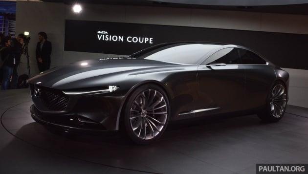 Mazda developing inline-six petrol, diesel, plug-in hybrids