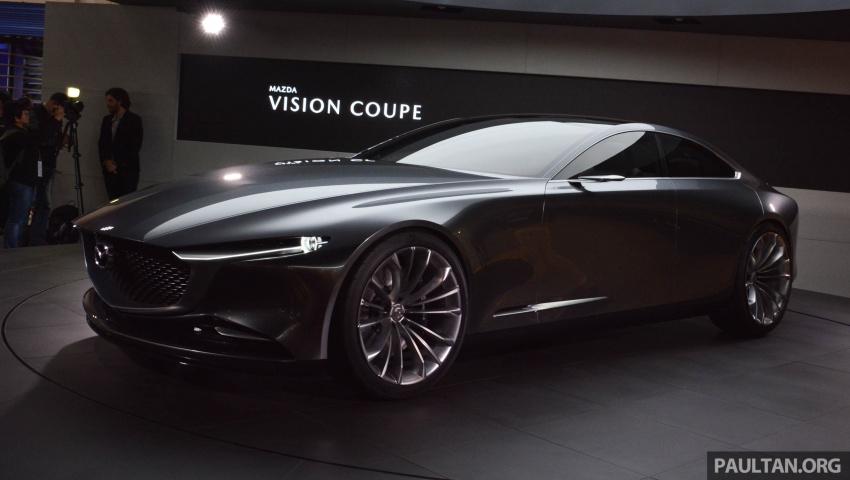 Tokyo 2017: Mazda Vision Coupe – the future of Kodo Image #728313