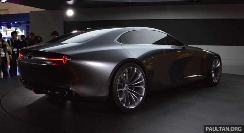 Tokyo 2017: Mazda Vision Coupe – the future of Kodo Image #728316