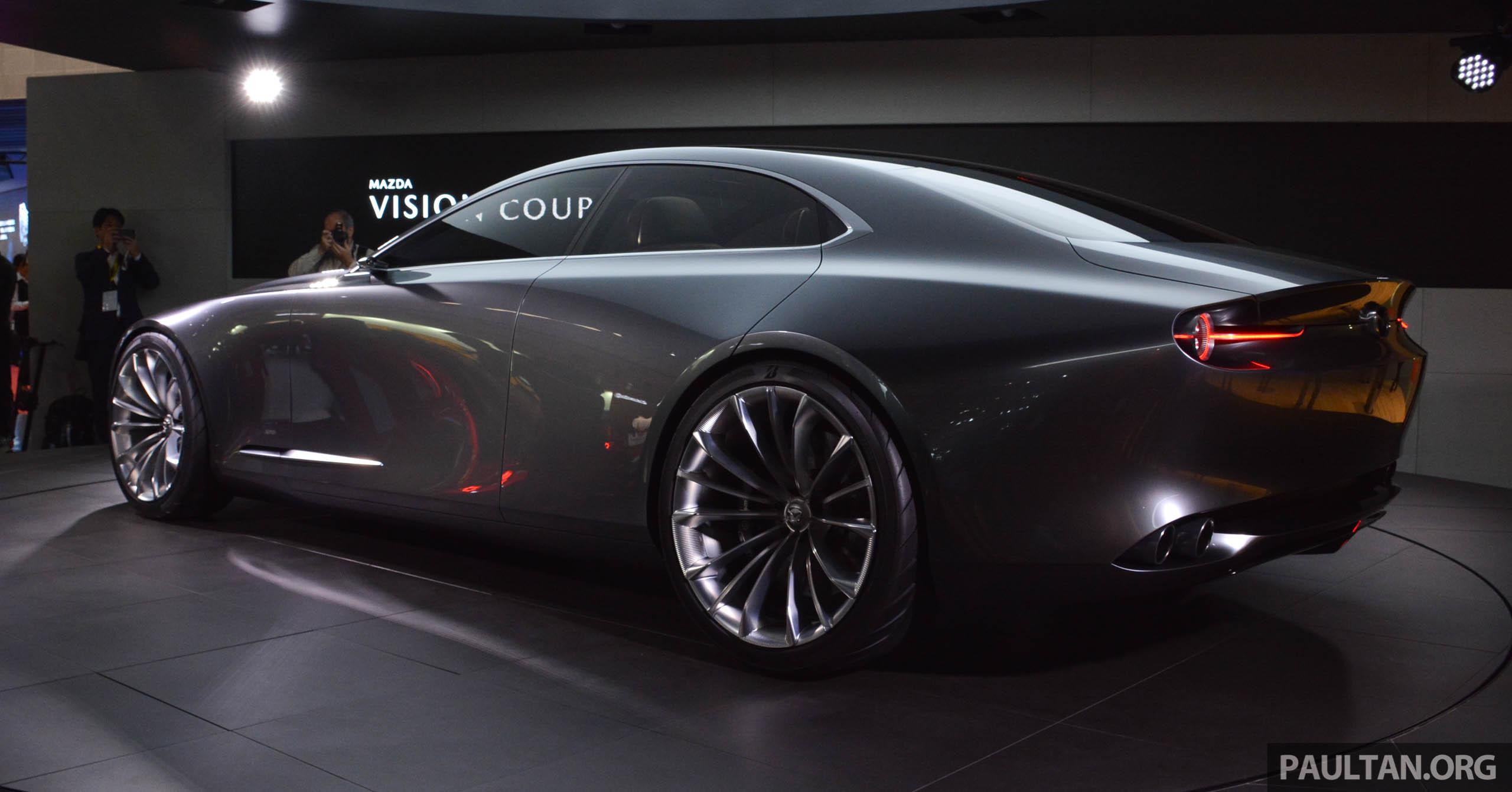 Mazda 3 Next Generation >> Tokyo 2017: Mazda Vision Coupe – the future of Kodo Paul Tan - Image 728317