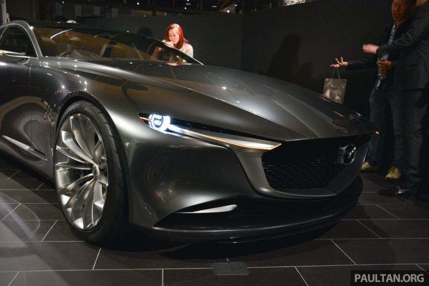 Tokyo 2017: Mazda Vision Coupe – the future of Kodo Image #727502