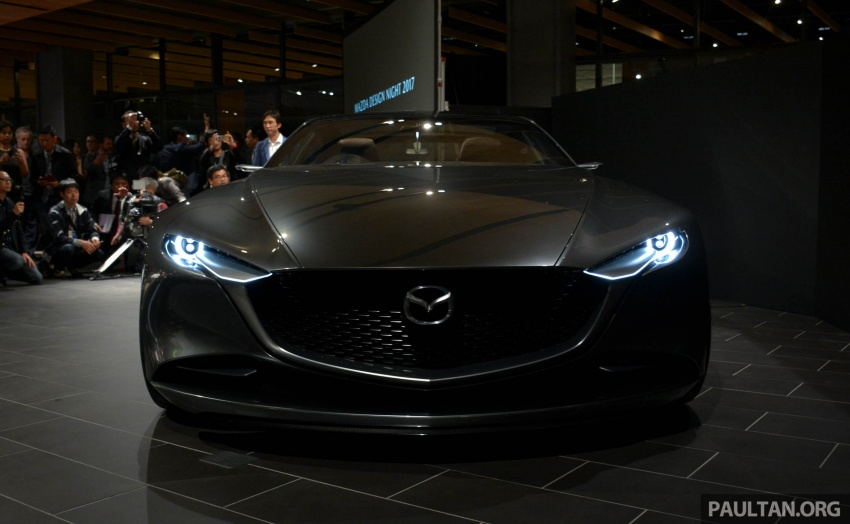 Tokyo 2017: Mazda Vision Coupe – the future of Kodo Image #727504
