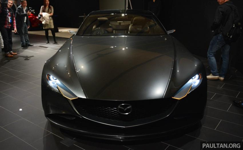 Tokyo 2017: Mazda Vision Coupe – the future of Kodo Image #727505