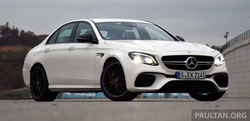 DRIVEN: W213 Mercedes-AMG E63S – right to the top Image #721358