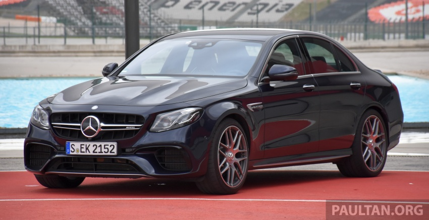 DRIVEN: W213 Mercedes-AMG E63S – right to the top Image #721367