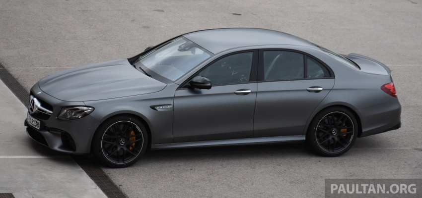 DRIVEN: W213 Mercedes-AMG E63S – right to the top Image #721368