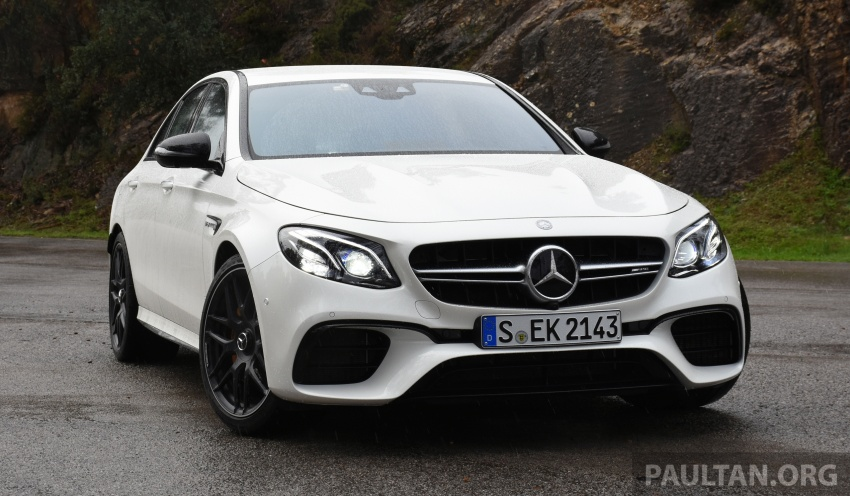 DRIVEN: W213 Mercedes-AMG E63S – right to the top Image #721371