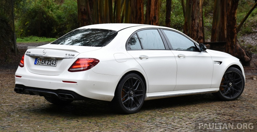 DRIVEN: W213 Mercedes-AMG E63S – right to the top Image #721372