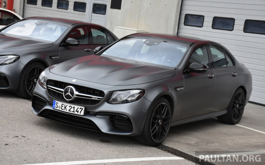 DRIVEN: W213 Mercedes-AMG E63S – right to the top Image #721375
