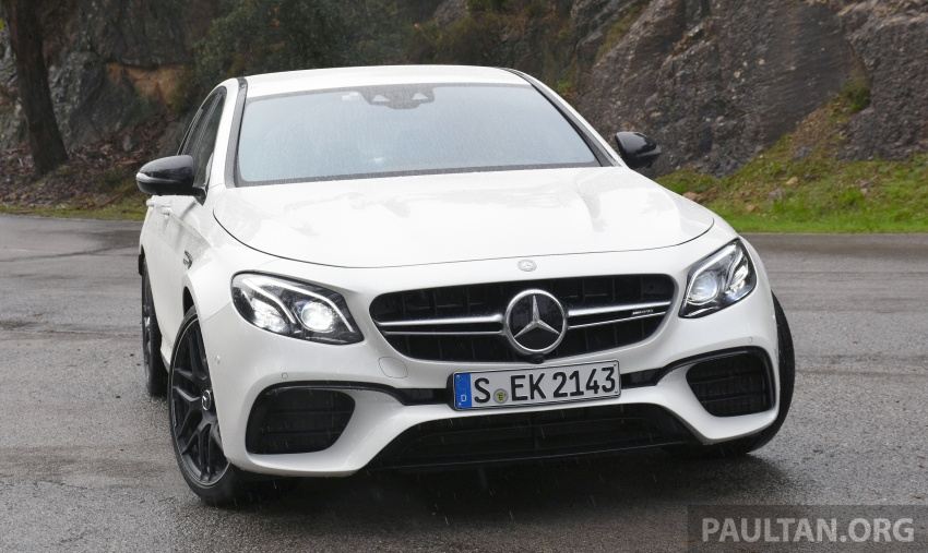 DRIVEN: W213 Mercedes-AMG E63S – right to the top Image #721376