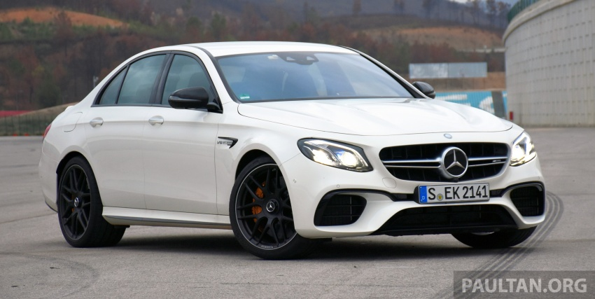 DRIVEN: W213 Mercedes-AMG E63S – right to the top Image #721359