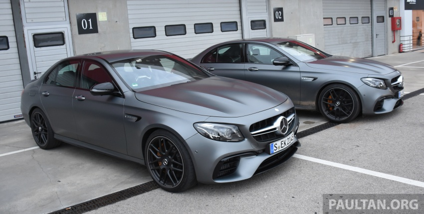 DRIVEN: W213 Mercedes-AMG E63S – right to the top Image #721377
