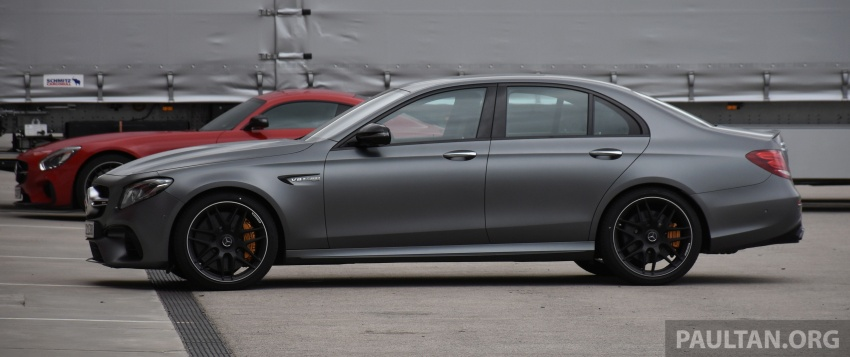 DRIVEN: W213 Mercedes-AMG E63S – right to the top Image #721378