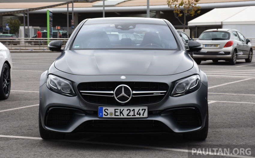 DRIVEN: W213 Mercedes-AMG E63S – right to the top Image #721380