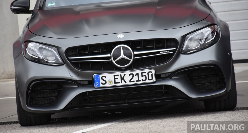 DRIVEN: W213 Mercedes-AMG E63S – right to the top Image #721386