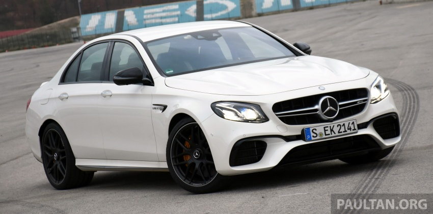 DRIVEN: W213 Mercedes-AMG E63S – right to the top Image #721360